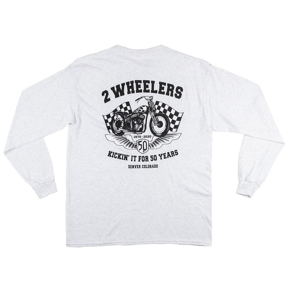 2 Wheelers – Longsleeve (Ash)