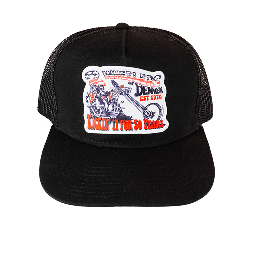 2 Wheelers – Chopper Hat (Black)