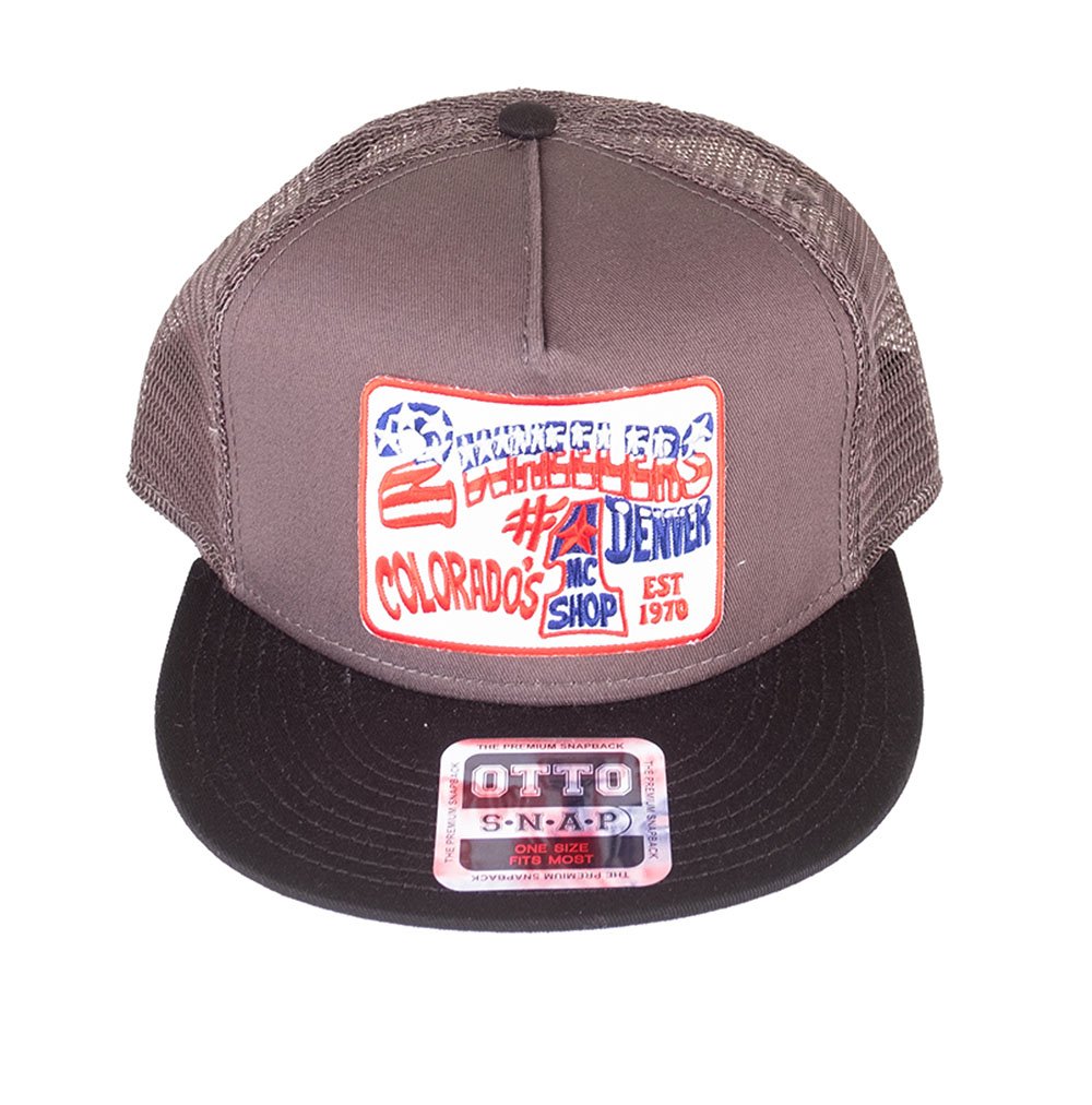 2 Wheelers – Logo Hat (Grey)