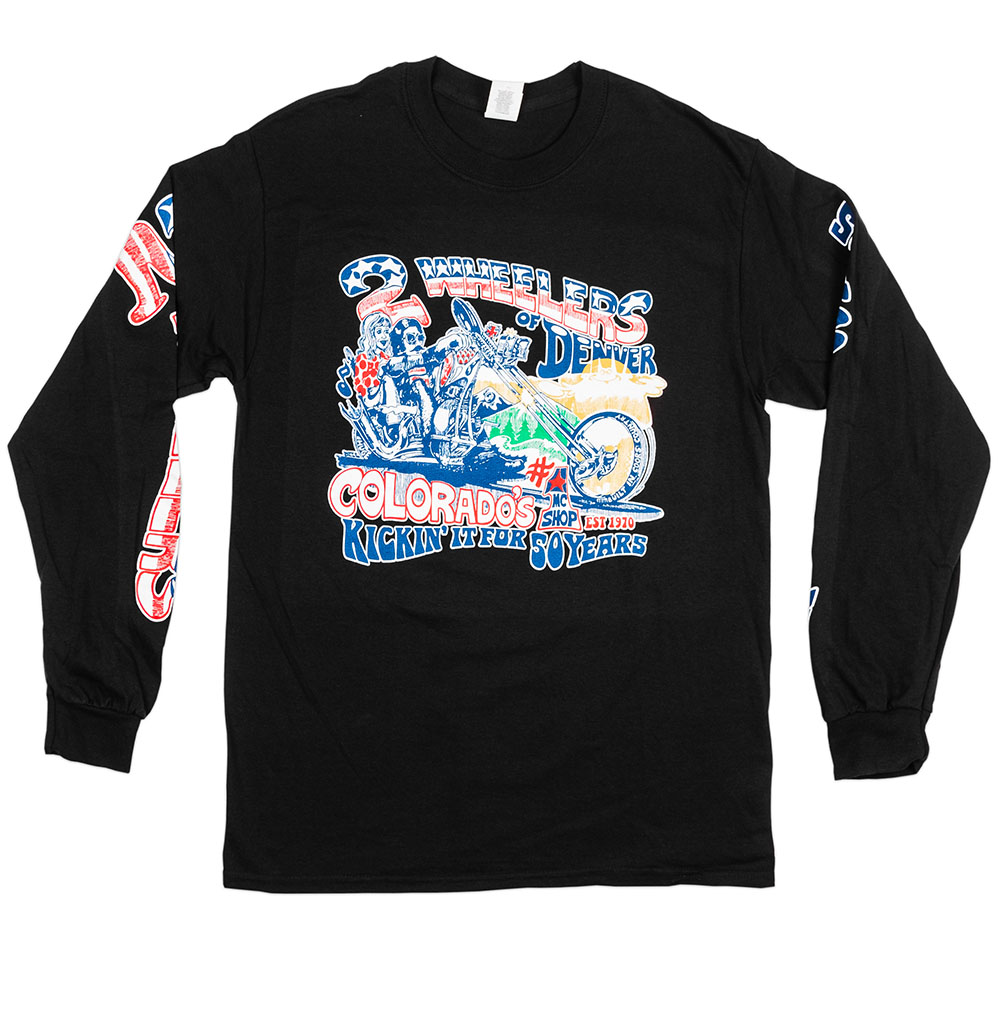 2 Wheelers – Longsleeve 1 (Black)