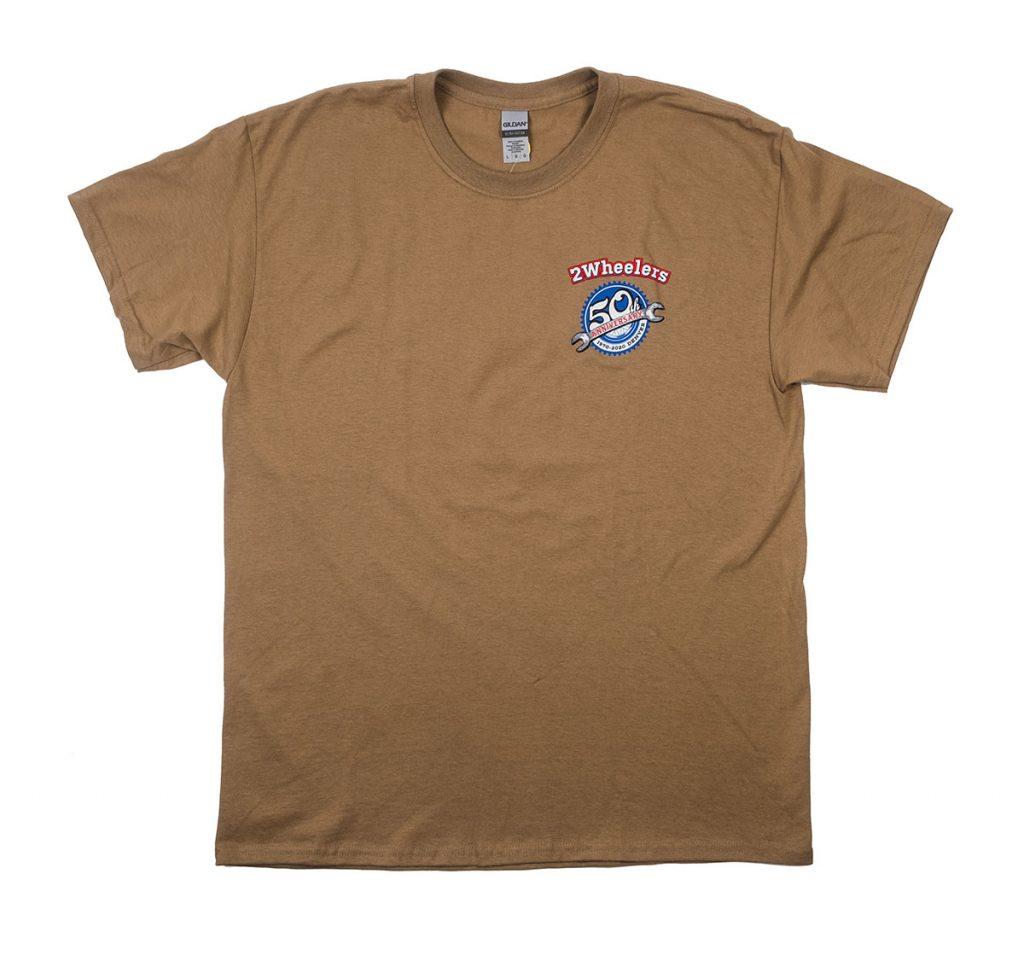 2 Wheelers – 50th Wrench (Prairie Dust)